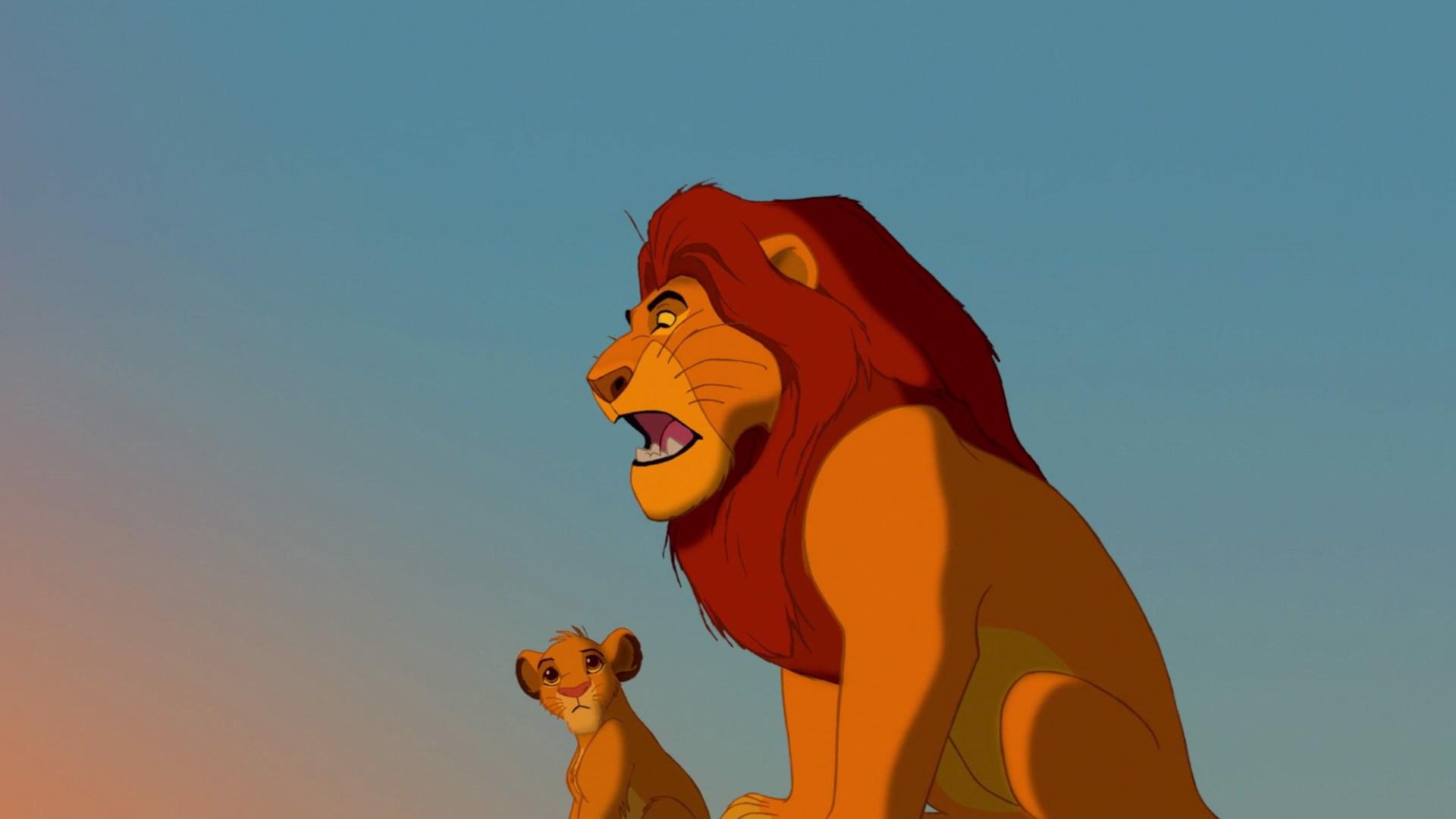 新狮子王与1994年原版的并列比较