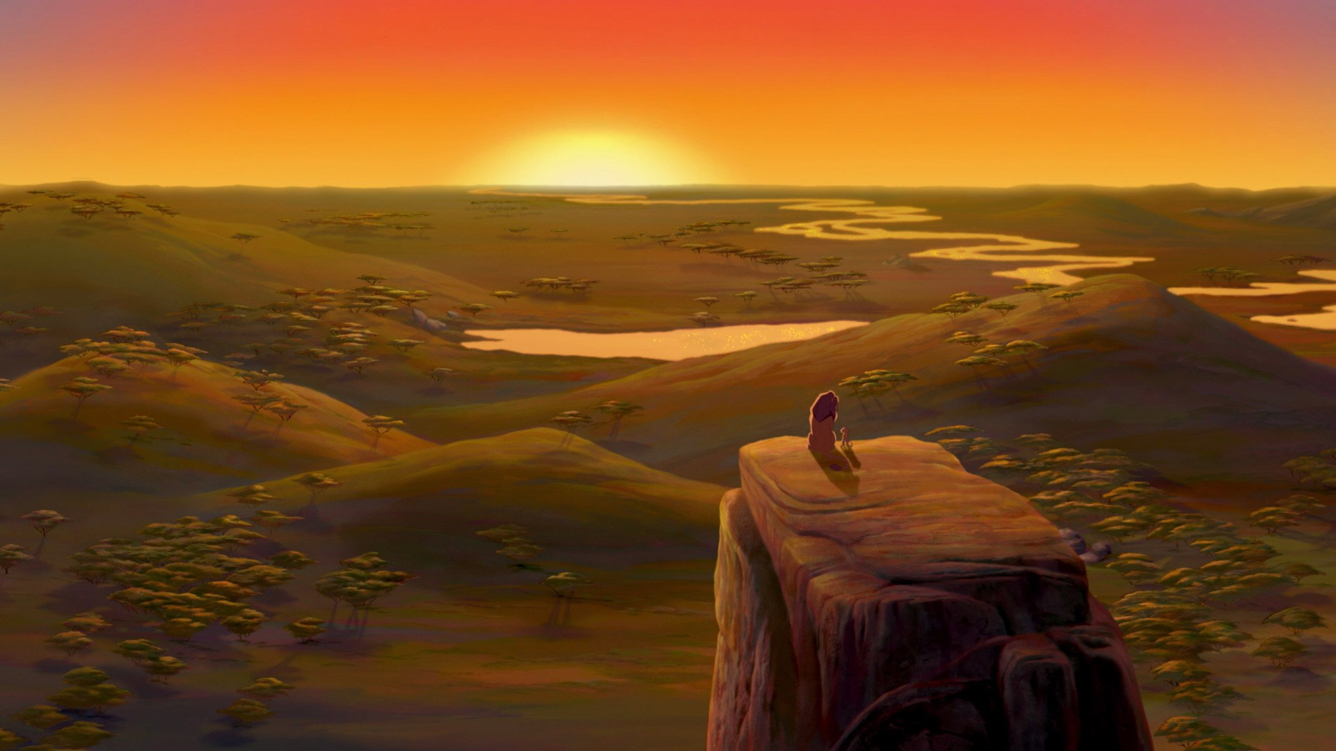 a side-by-side comparison of the new lion king with the 1994 original