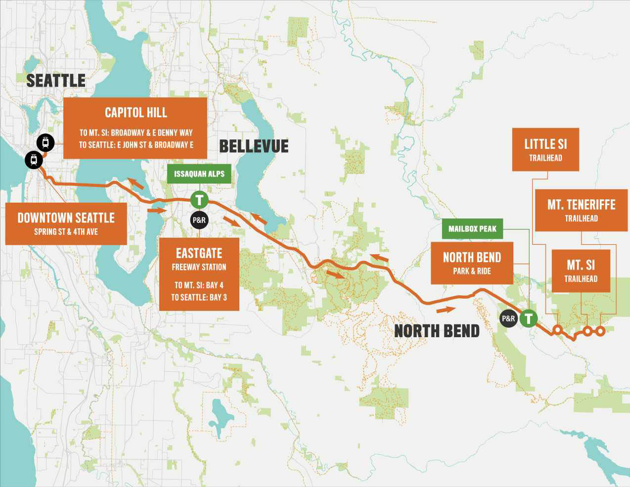 Shuttle to Seattle-area hikes returns for 2019 season