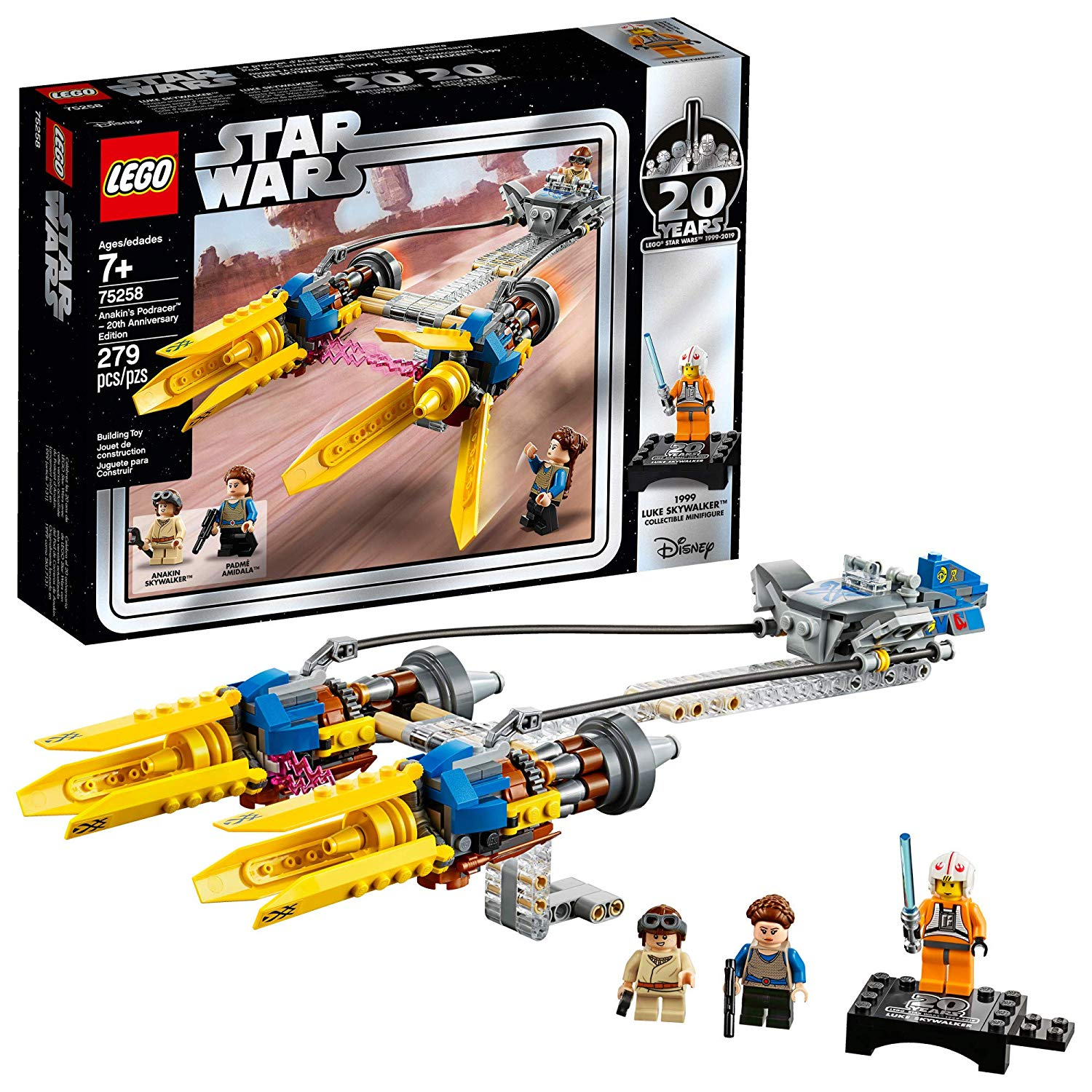 Lego Star Wars 20th Anniversary Sets Celebrate 20 Years Since