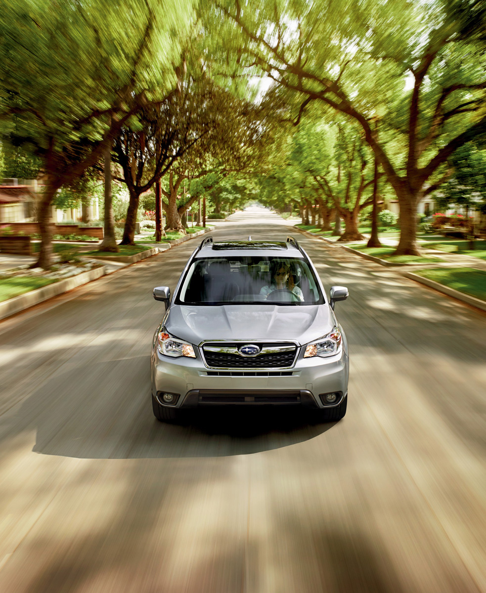Forester exhibits all of compact SUVs' best traits - Chicago