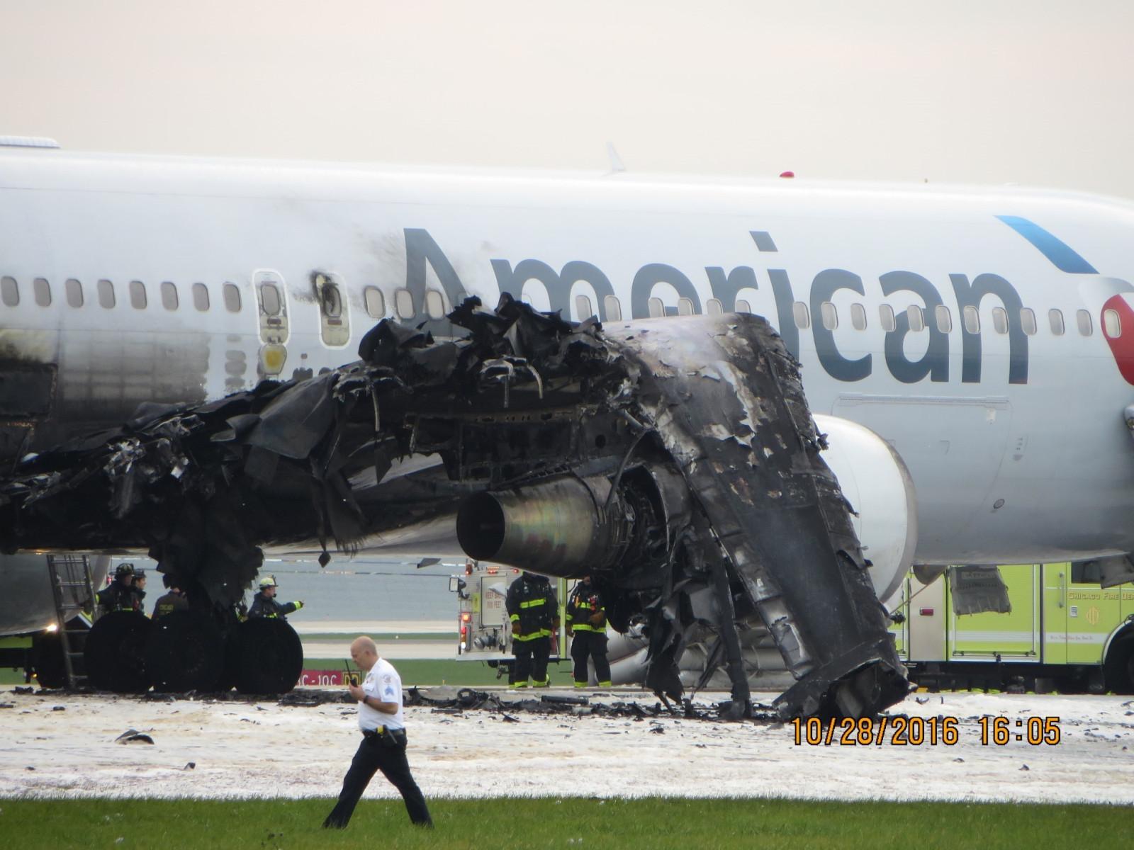 American Airlines Flight 383 fire: Pilot blind spots hurt