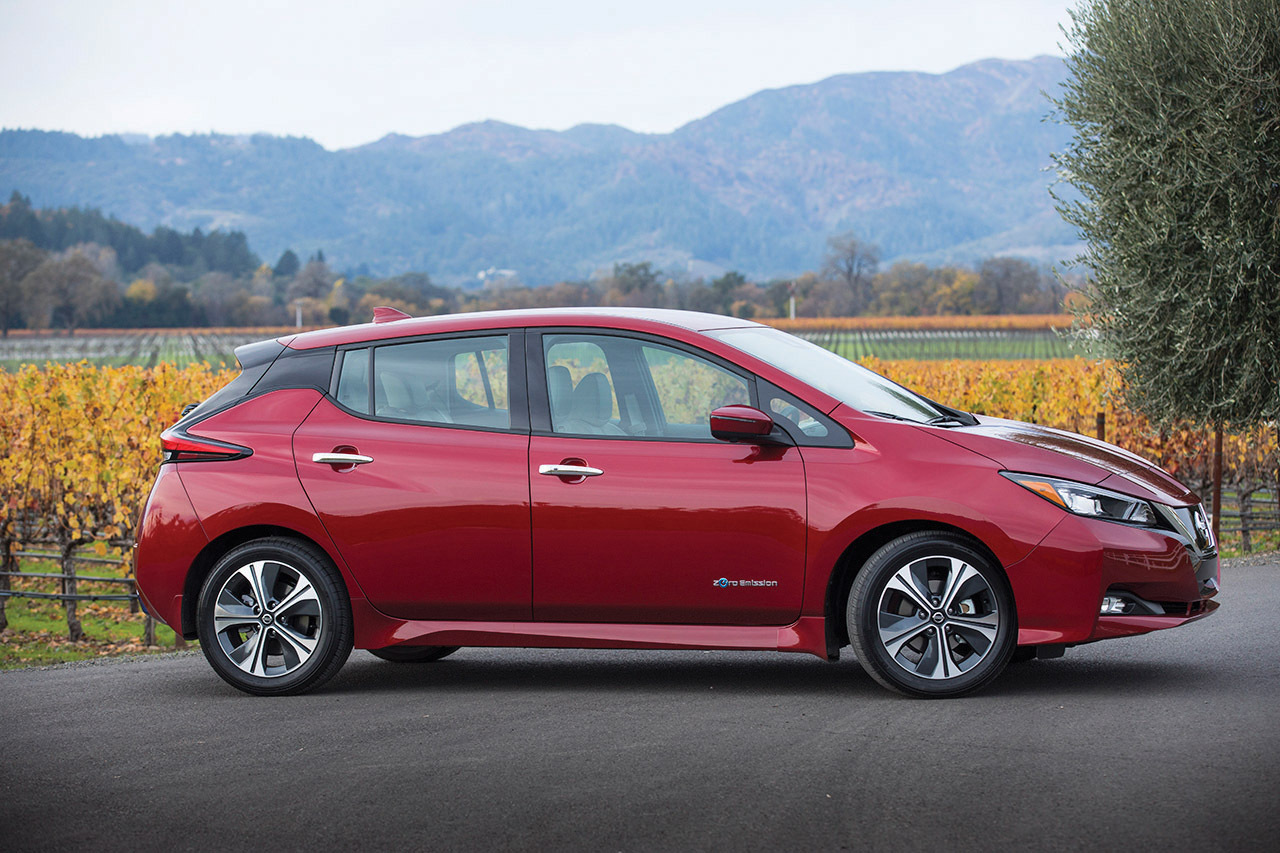 Nissan Derniers Modèles >> All Electric Nissan Leaf Is All New Model Chicago Sun Times
