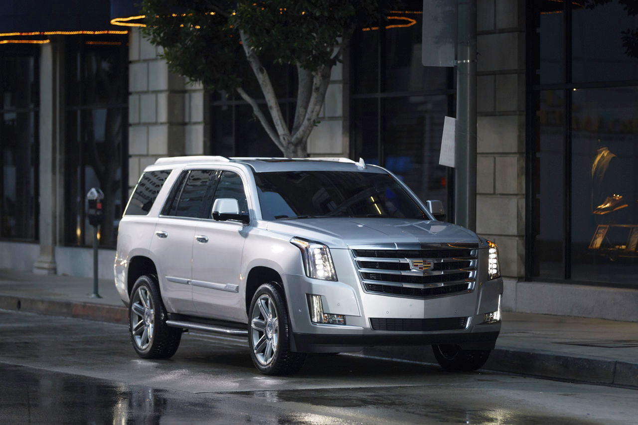 Escalade: Cadillac's cruiser SUV delivers luxury, 7-passenger