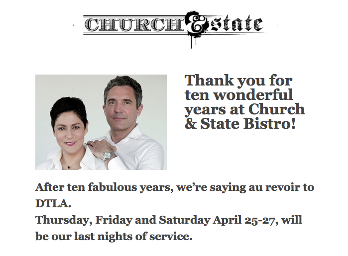 French Restaurant That Changed the Arts District Forever Said to Be Closing This Month [Update]