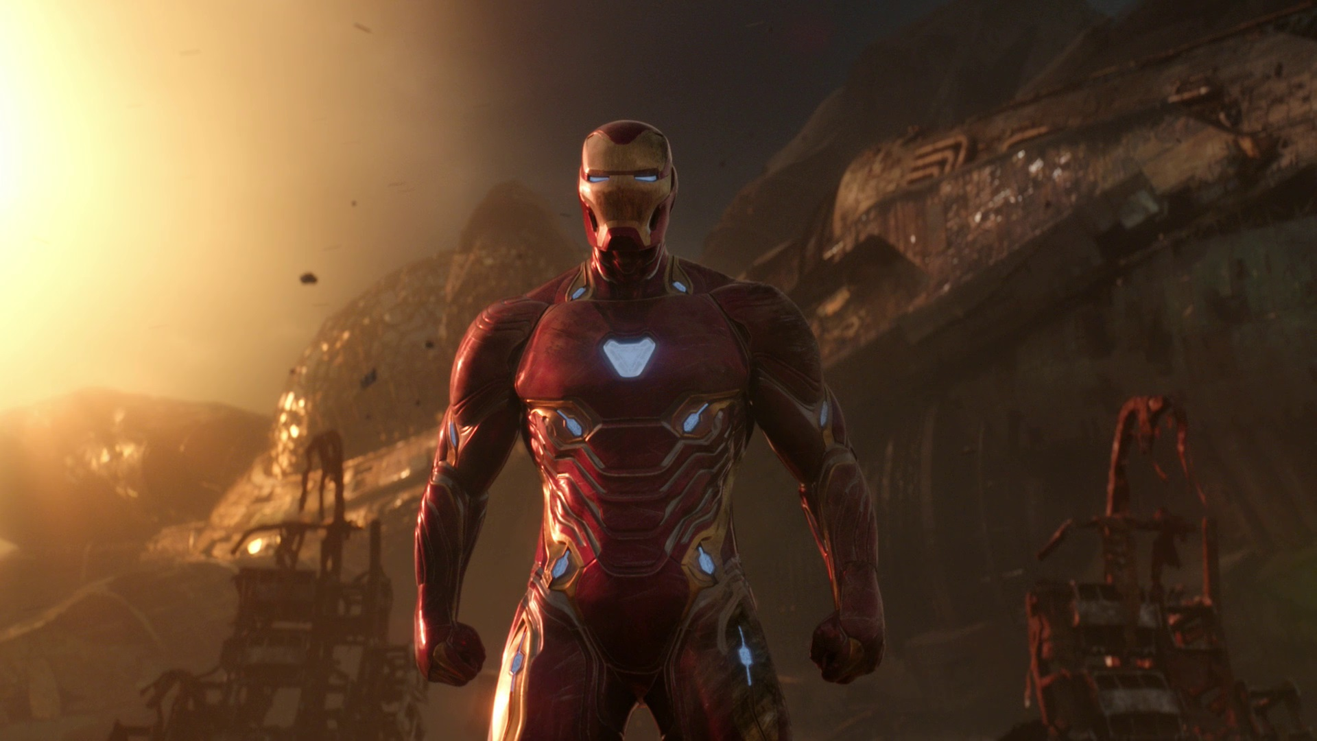 Iron Man's Endgame suit was meant to speak to both his character arc and attachments