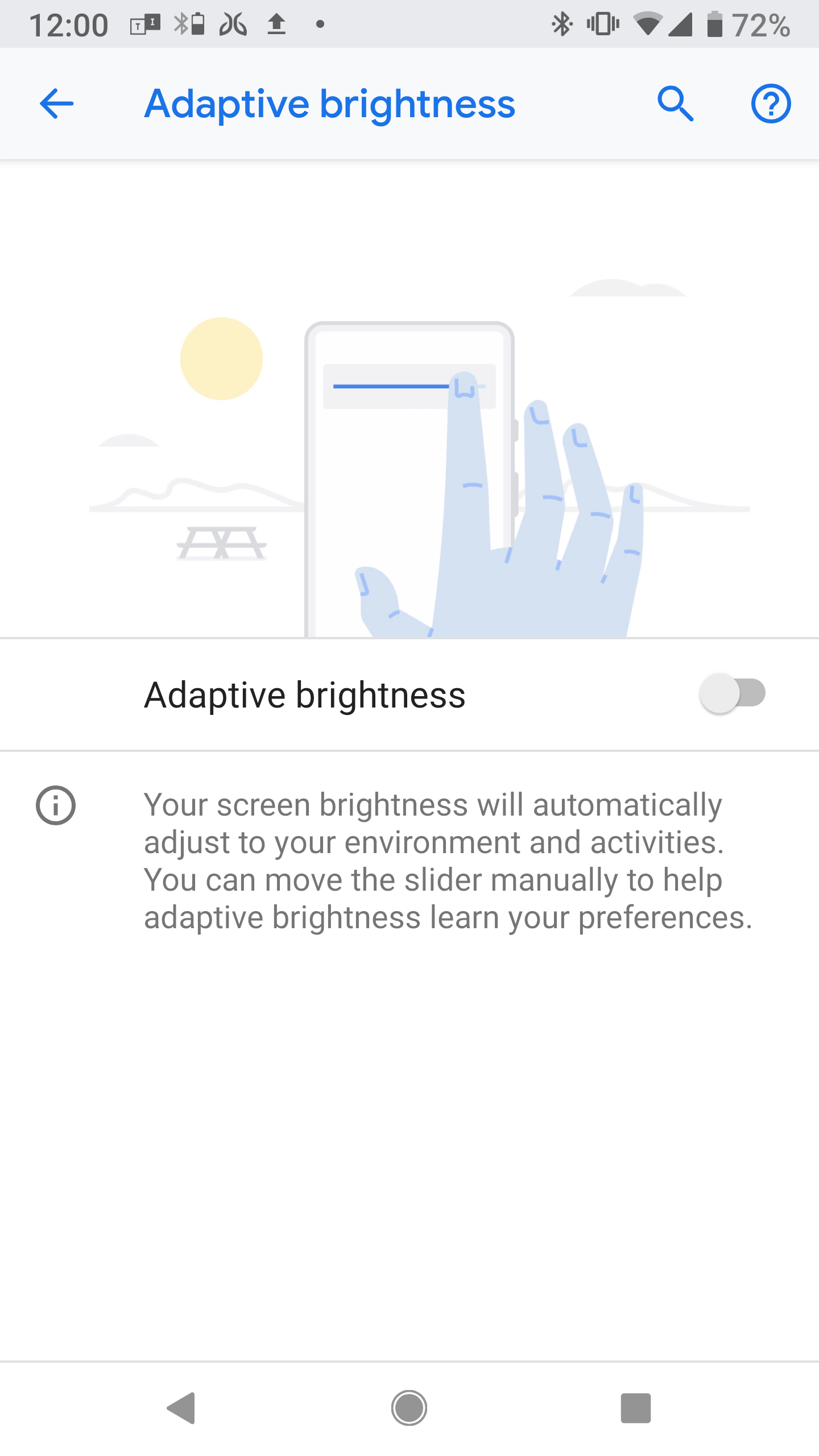 How to adjust Android Pie's adaptive brightness feature - The Verge