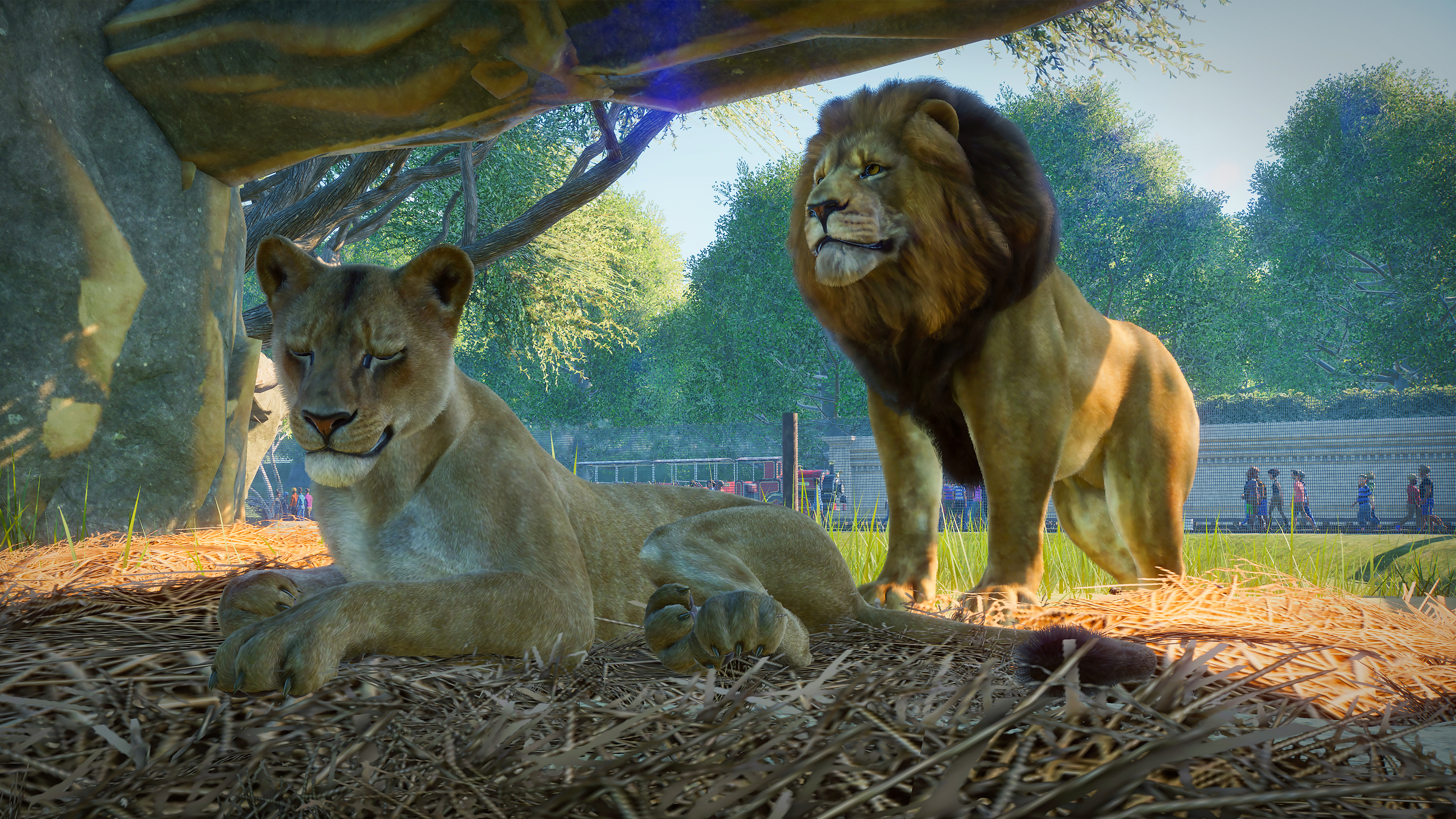 Frontier Developments' next tycoon sim is Planet Zoo, coming this