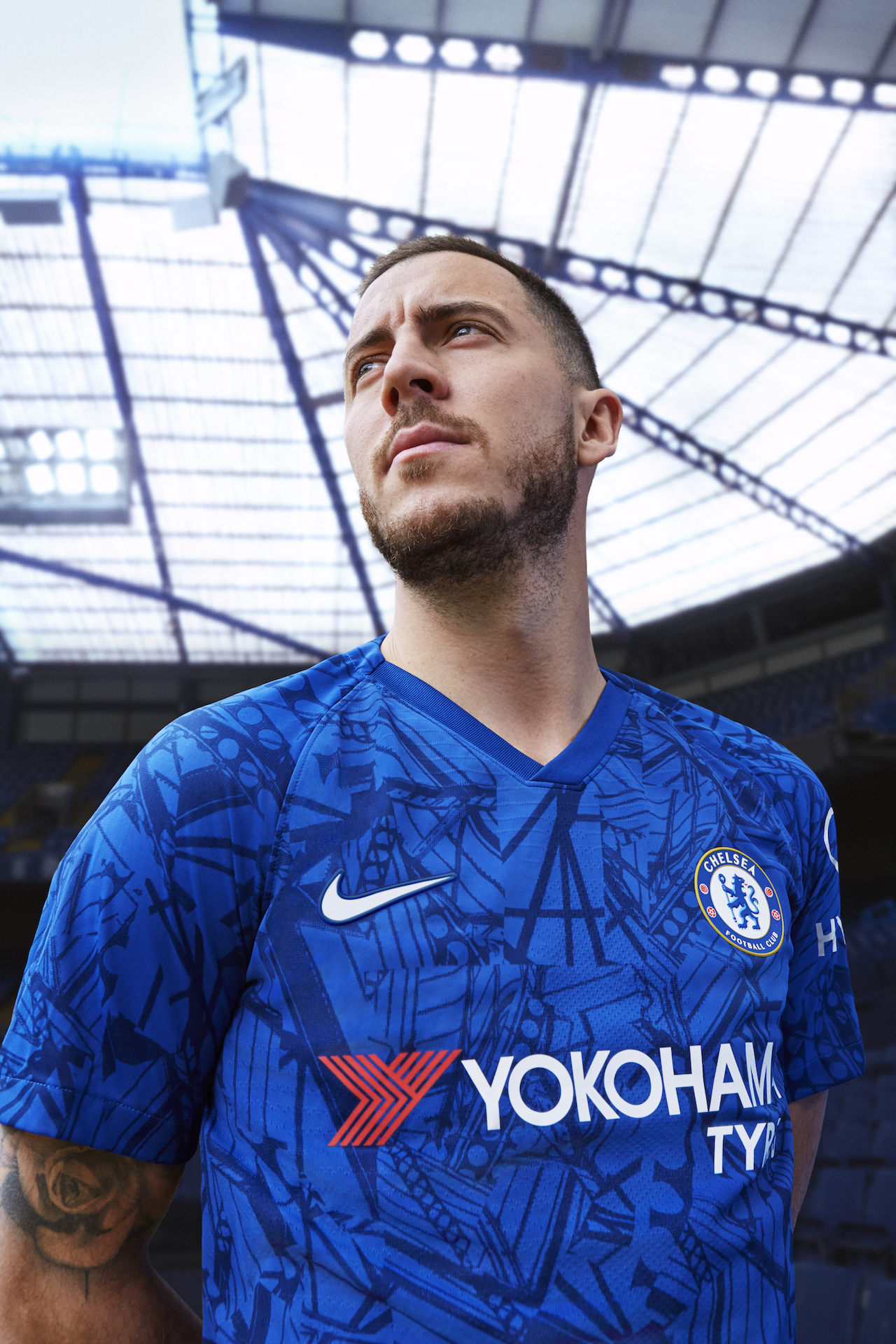 34995607032 Chelsea introduce 2019-20 home kit with Eden Hazard front and center ...