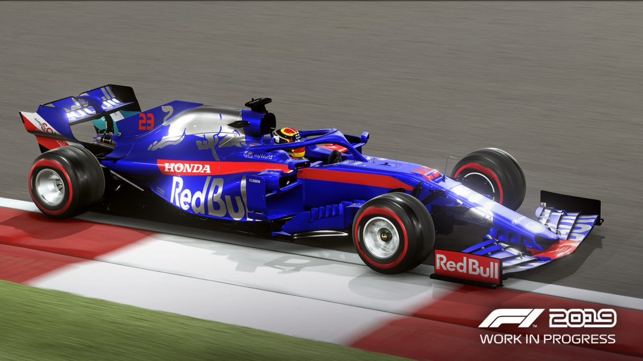 F1 2019 adds F2 to career mode, launches two months earlier