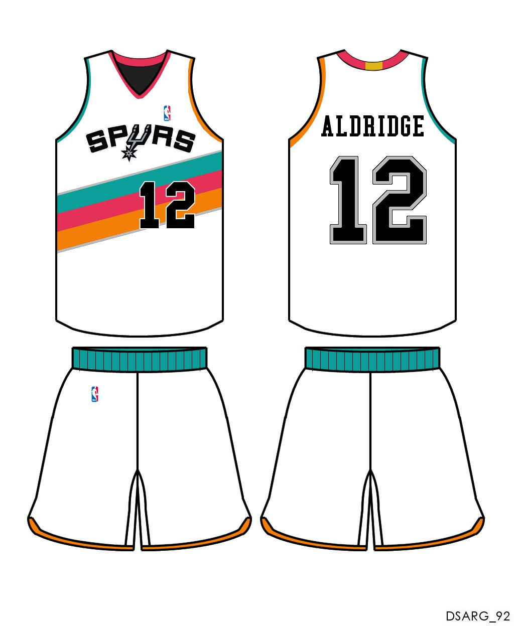 f545f58c131 More proof that the Spurs need Fiesta-themed uniforms - Pounding The ...