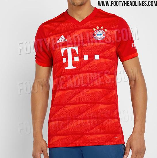 KIT LEAK: Bayern Munich's 2019/2020 home kit - Bavarian