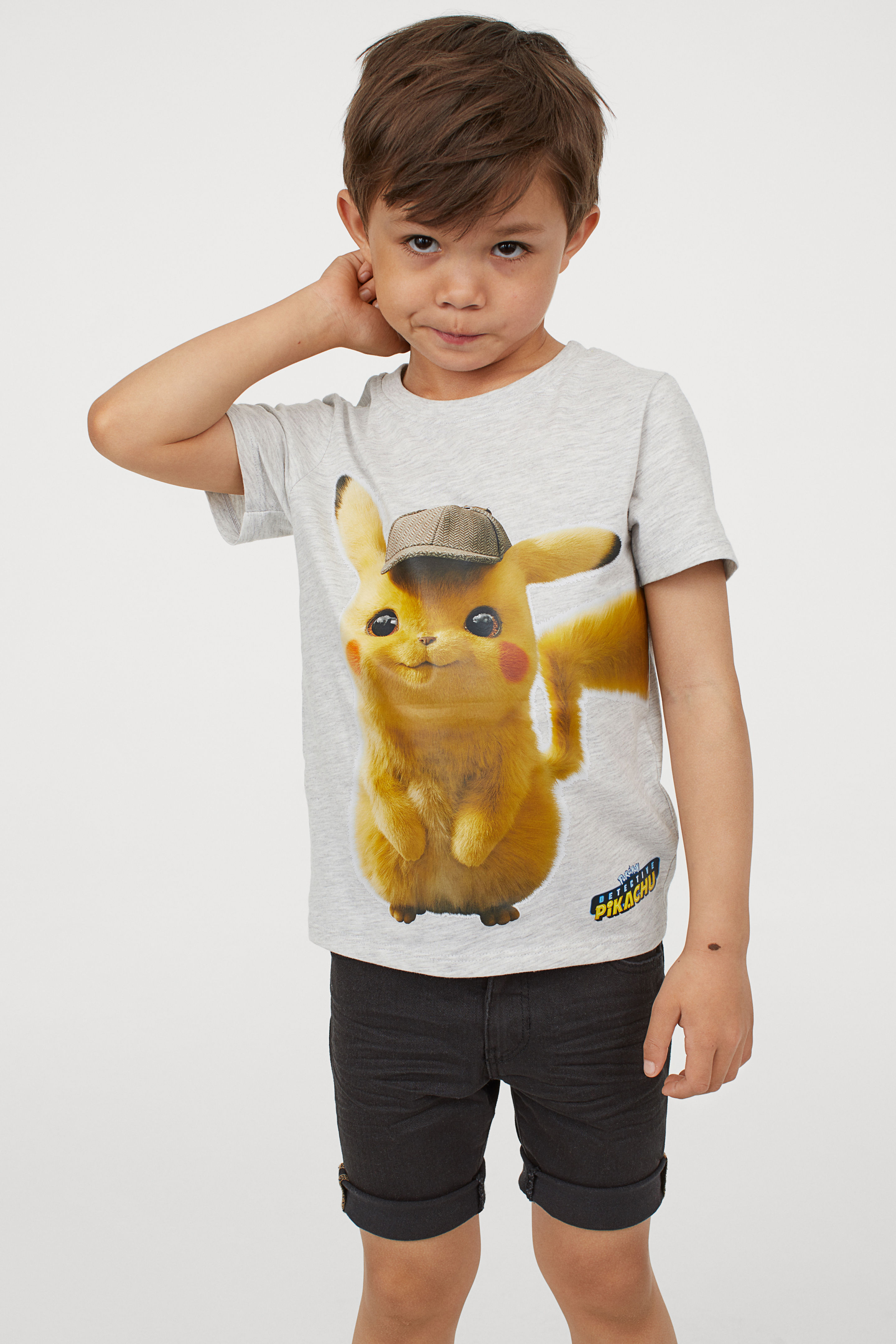 0cc87e35 Detective Pikachu shirts and shorts added to H&M Pokémon collection ...