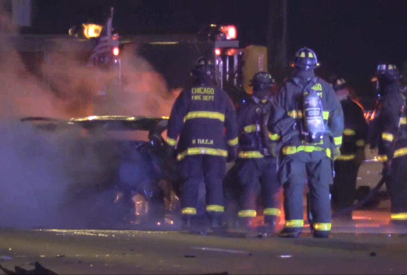 Woman 'burned Alive' When Uber She Was In Hit By Drunken