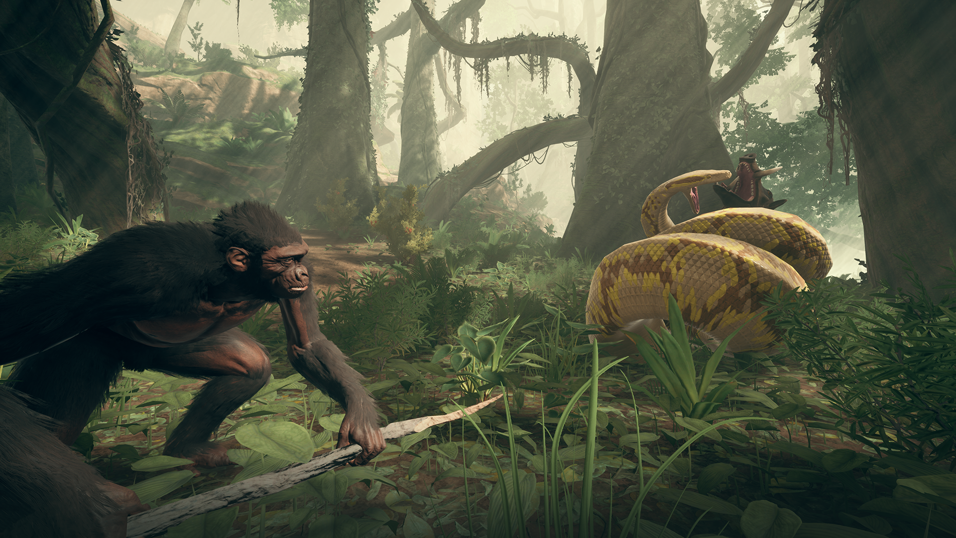 Ancestors: The Humankind Odyssey will launch on Epic Games