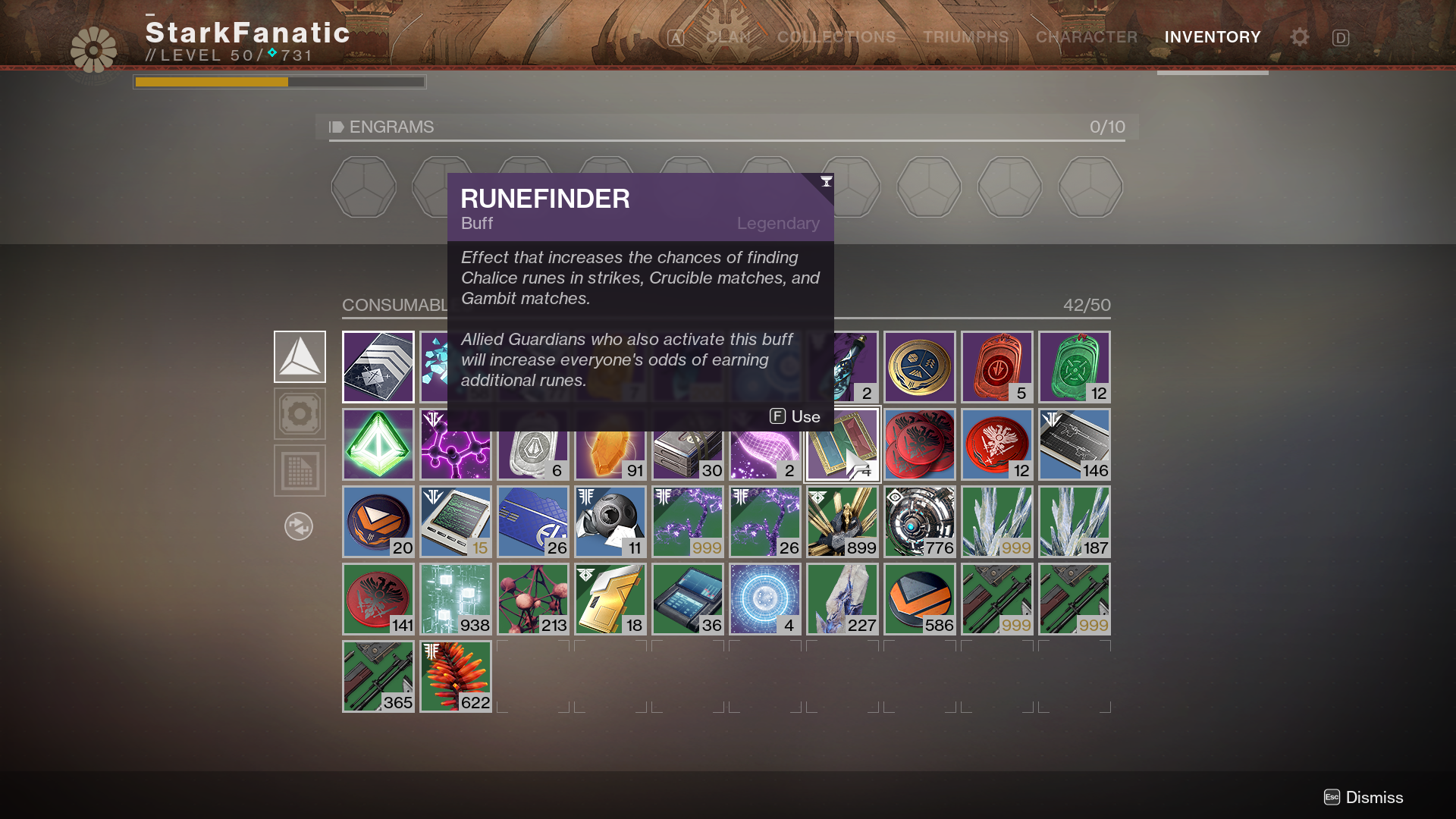 Destiny 2: Chalice of Opulence Rune crafting Guide