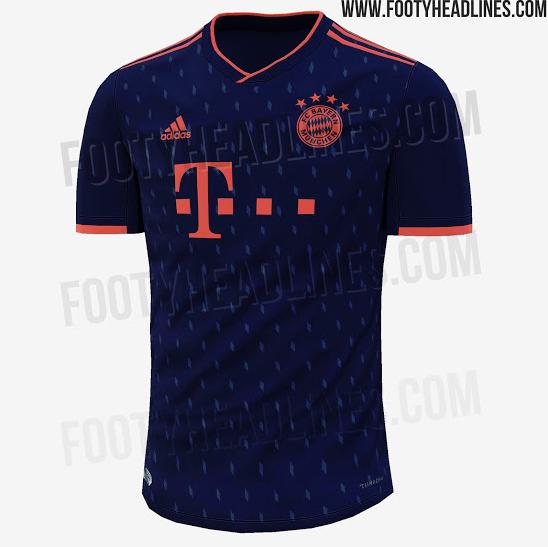 sports shoes d60b0 7f5a6 KIT LEAK: Bayern Munich's 3rd kit for 2019-20 - Bavarian ...