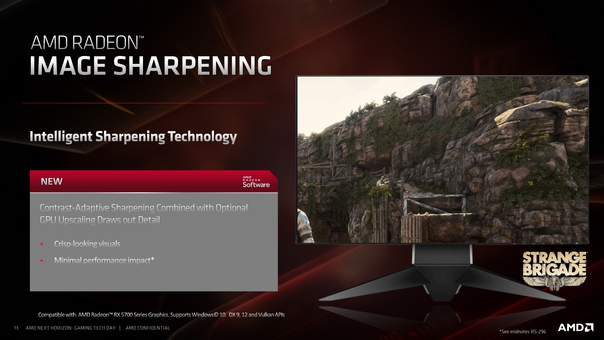 AMD's Radeon 5700 XT wants to put a dent in the world like