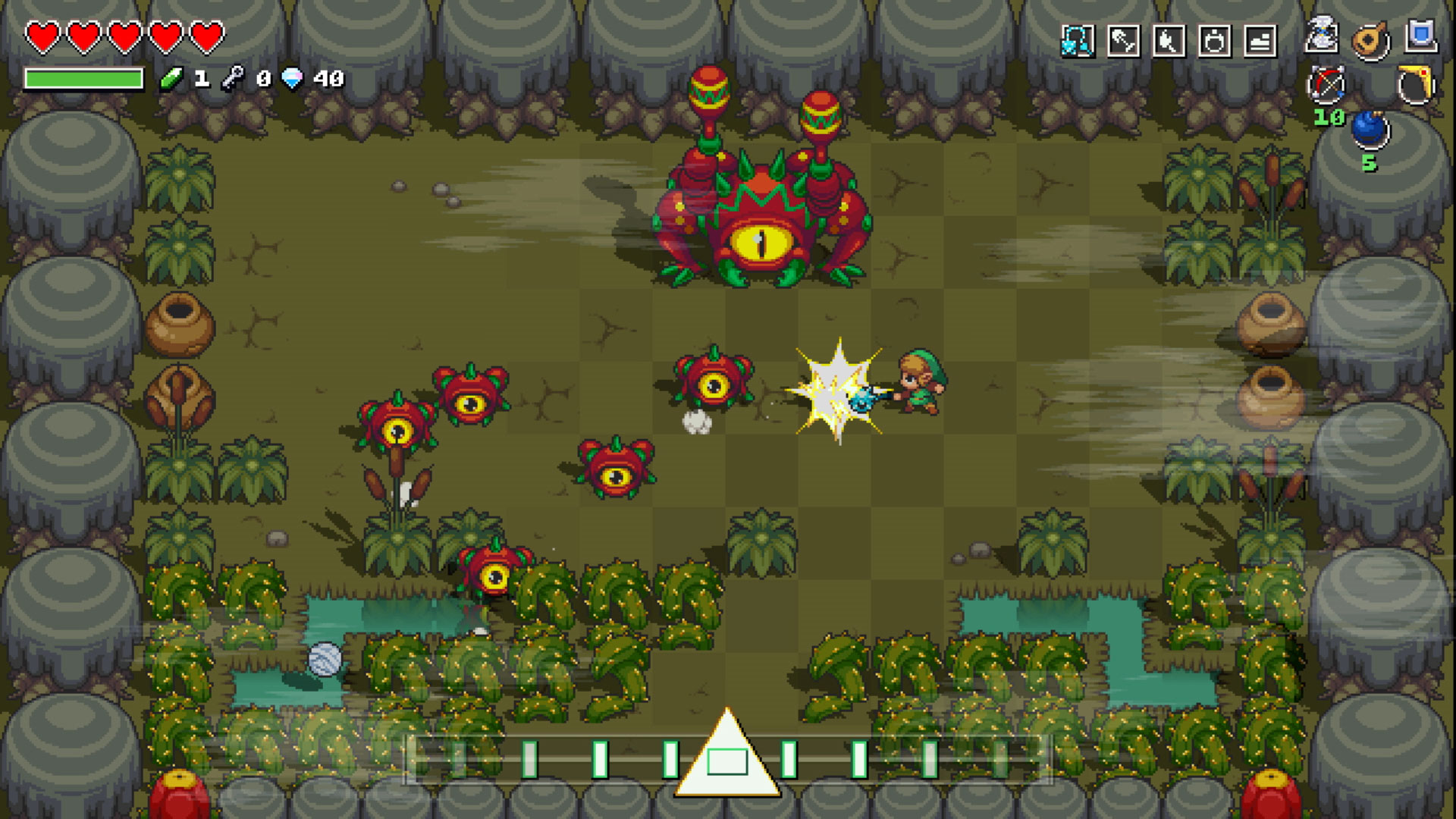 Cadence of Hyrule is a Zelda rhythm game that demands you move to