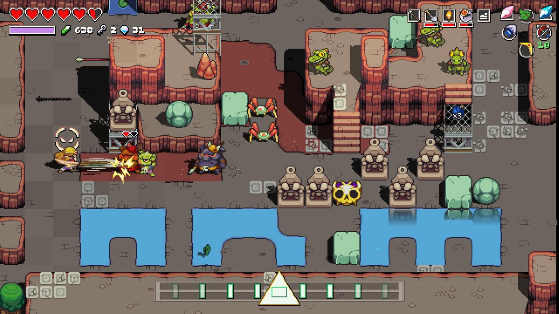 Cadence of Hyrule is a Zelda rhythm game that demands you