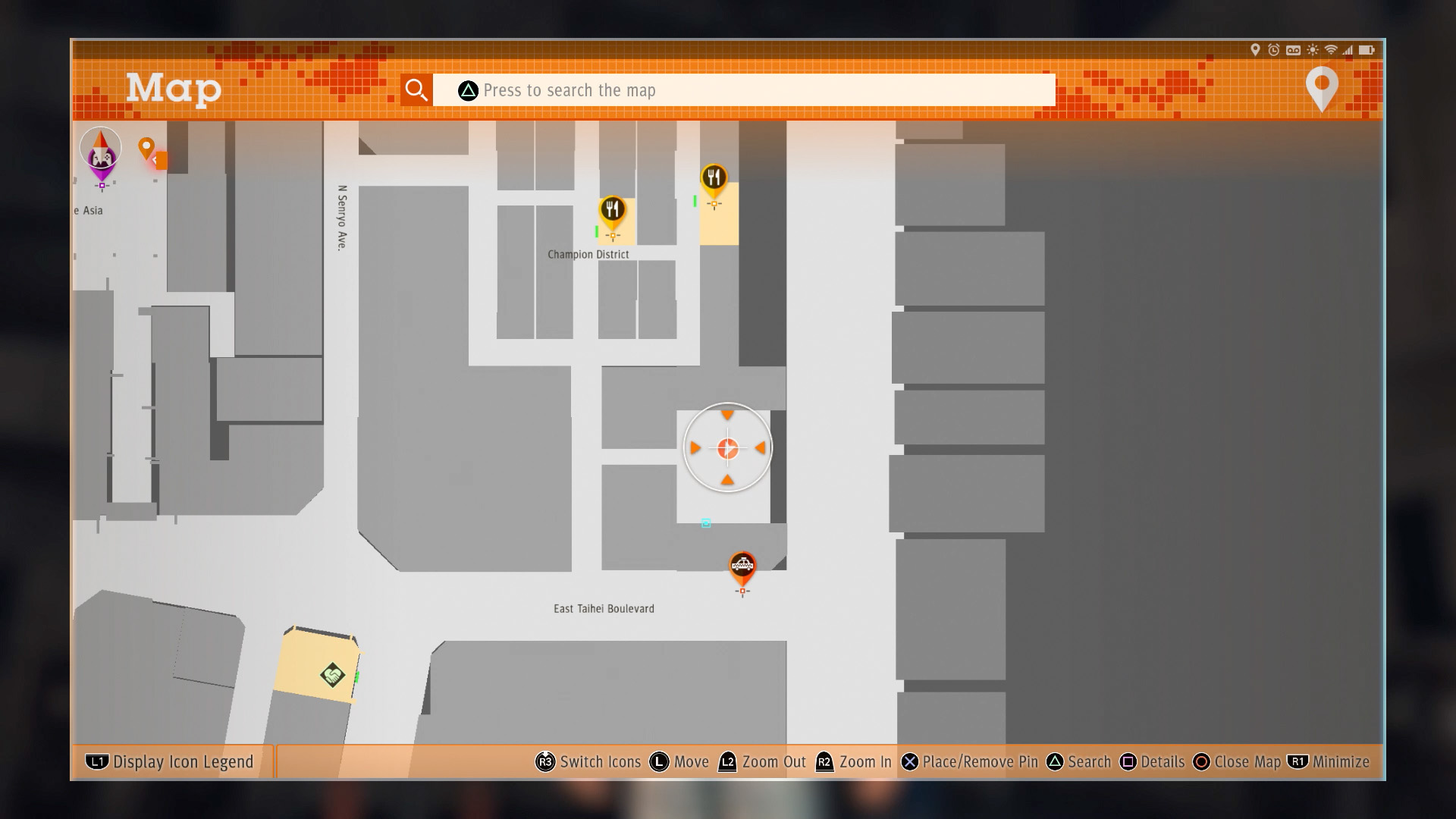 Judgment skill QR code locations and map - Polygon