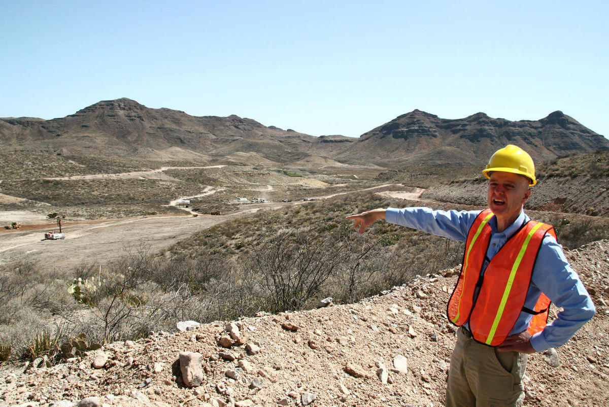 Texas silver mine gets new life after 1942 closure - Deseret
