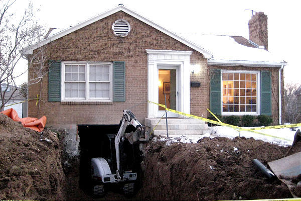 Renovation Solutions Digging Out Your Basement To Add New E Deseret News