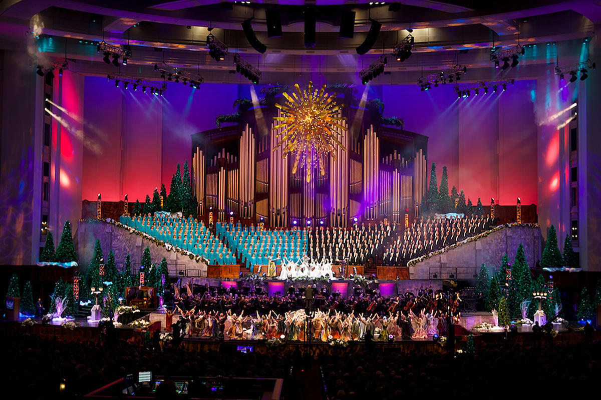 Lds Christmas Concert.Tickets For Mormon Tabernacle Choir Christmas Concert Sell