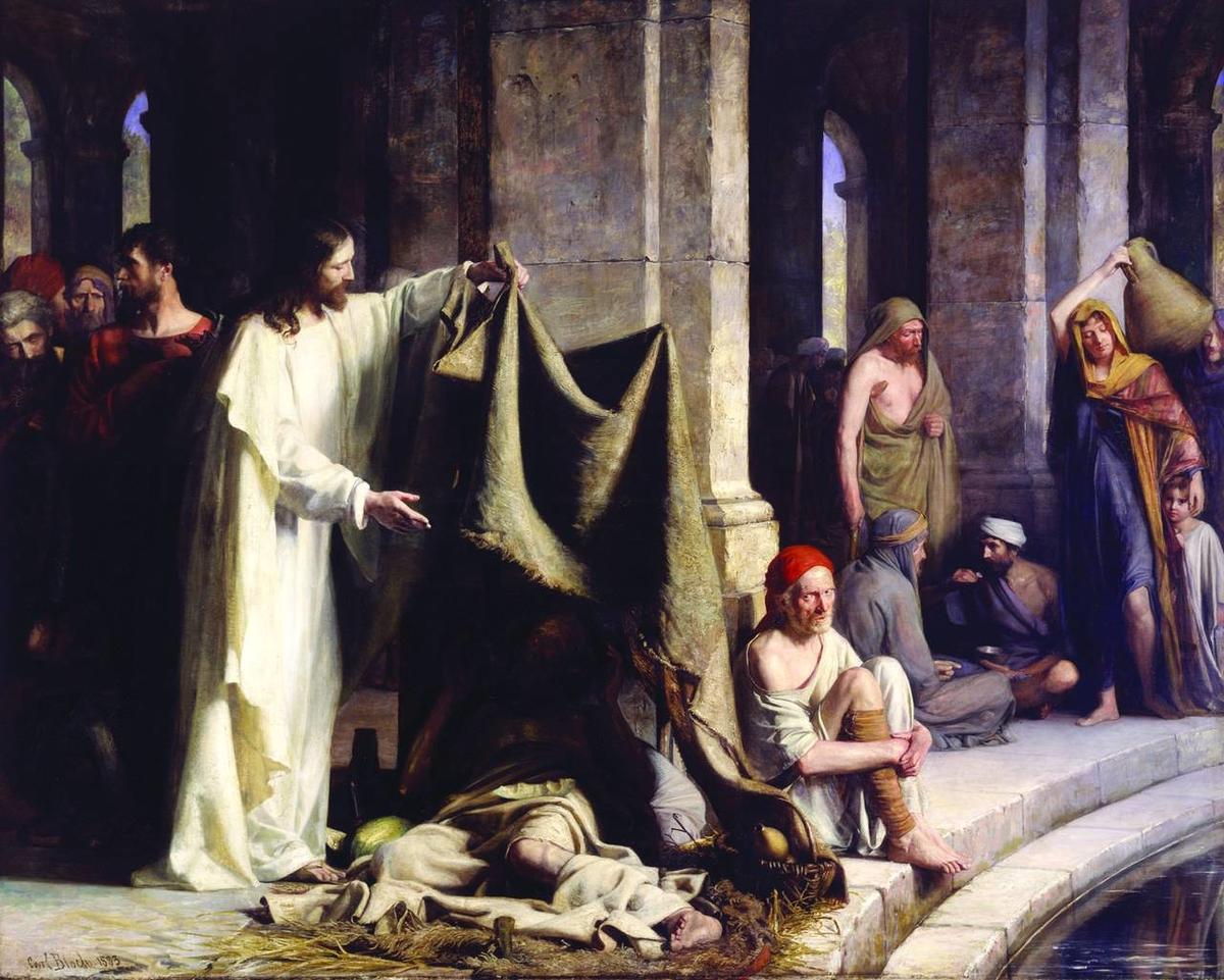 Elder Holland, Bethesda and the art of healing - Deseret News