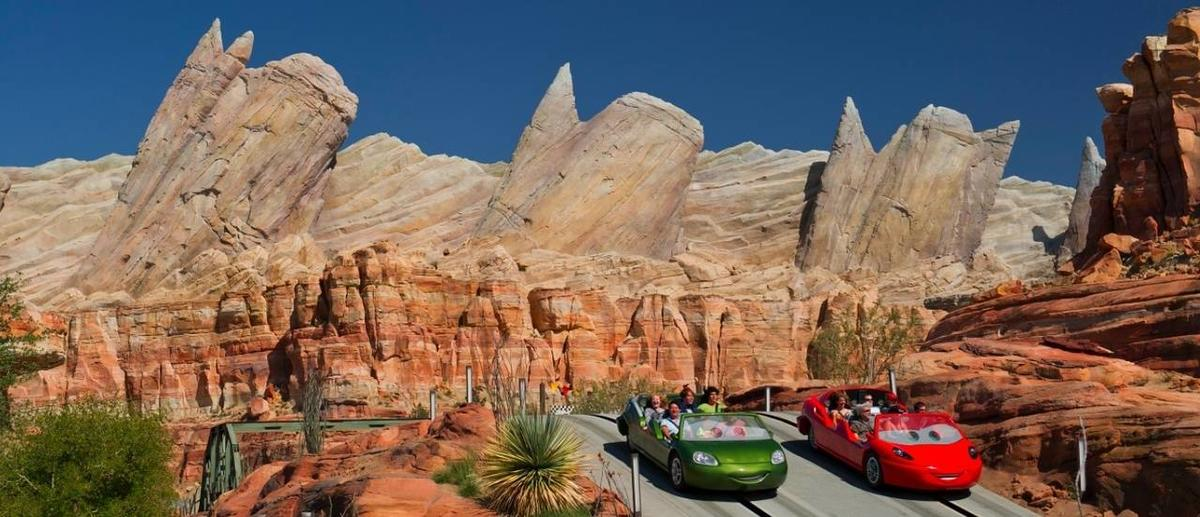 'Cars Land' opens in Disneyland with wheels, grins and fun