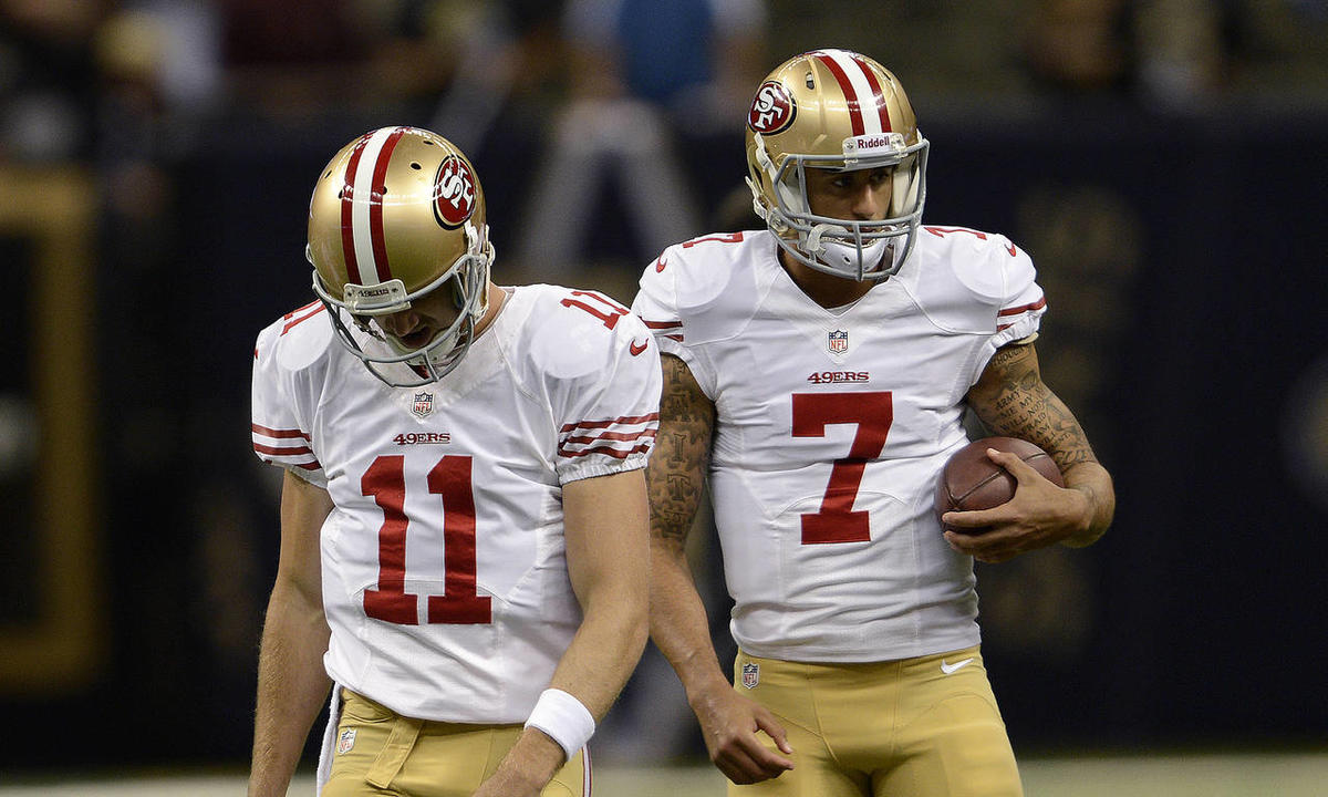 cheap for discount 8ec4b 83a32 Former Ute QB Alex Smith loses starting position on 49ers ...