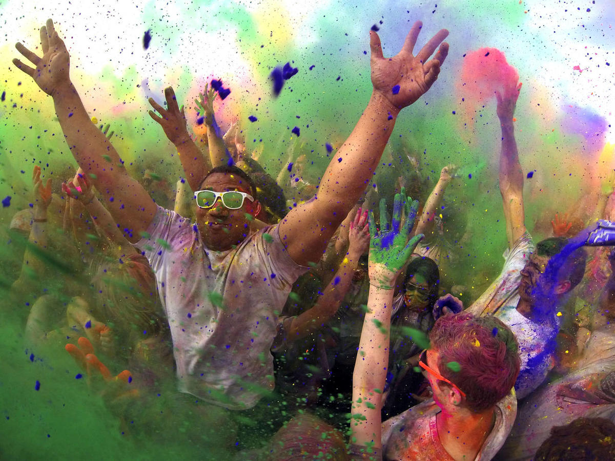 Living in Color: Holi Festival of Colors in Spanish Fork
