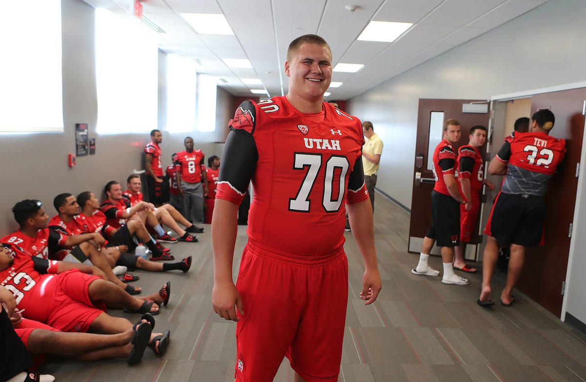 premium selection 713d3 2a092 Utah Utes show off new uniforms with mountain theme ...