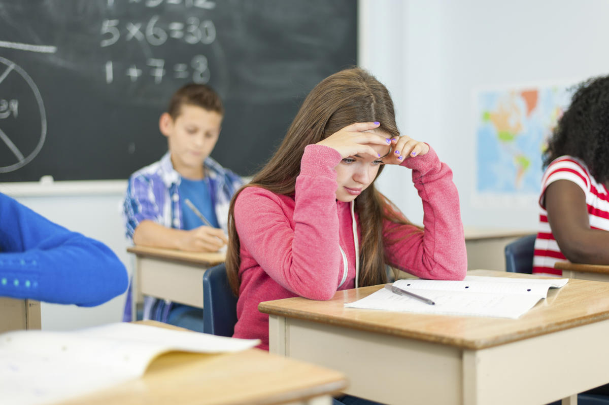 Image result for kid with headache at school