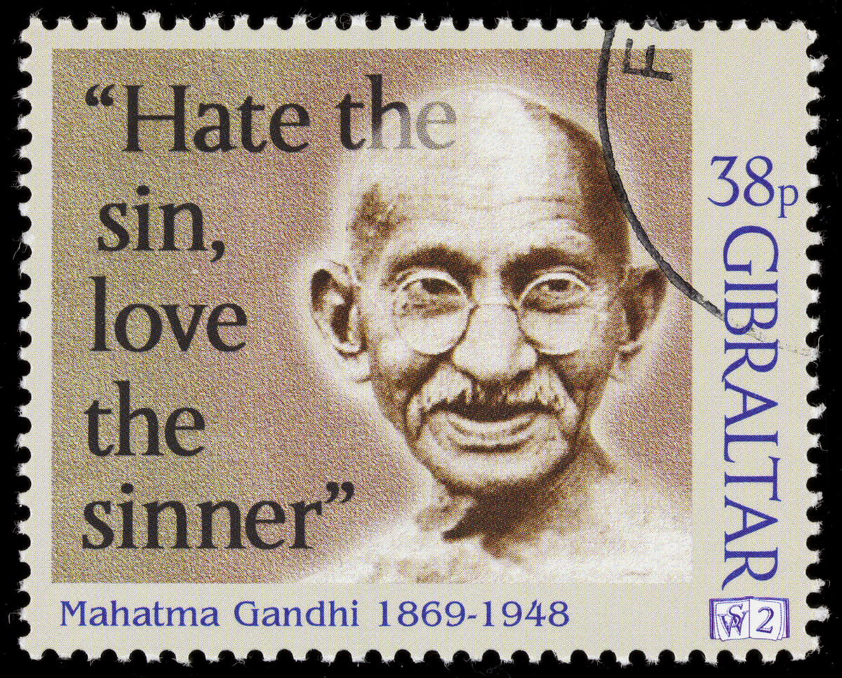 It's Gandhi's birthday, so here are 11 quotes on religion
