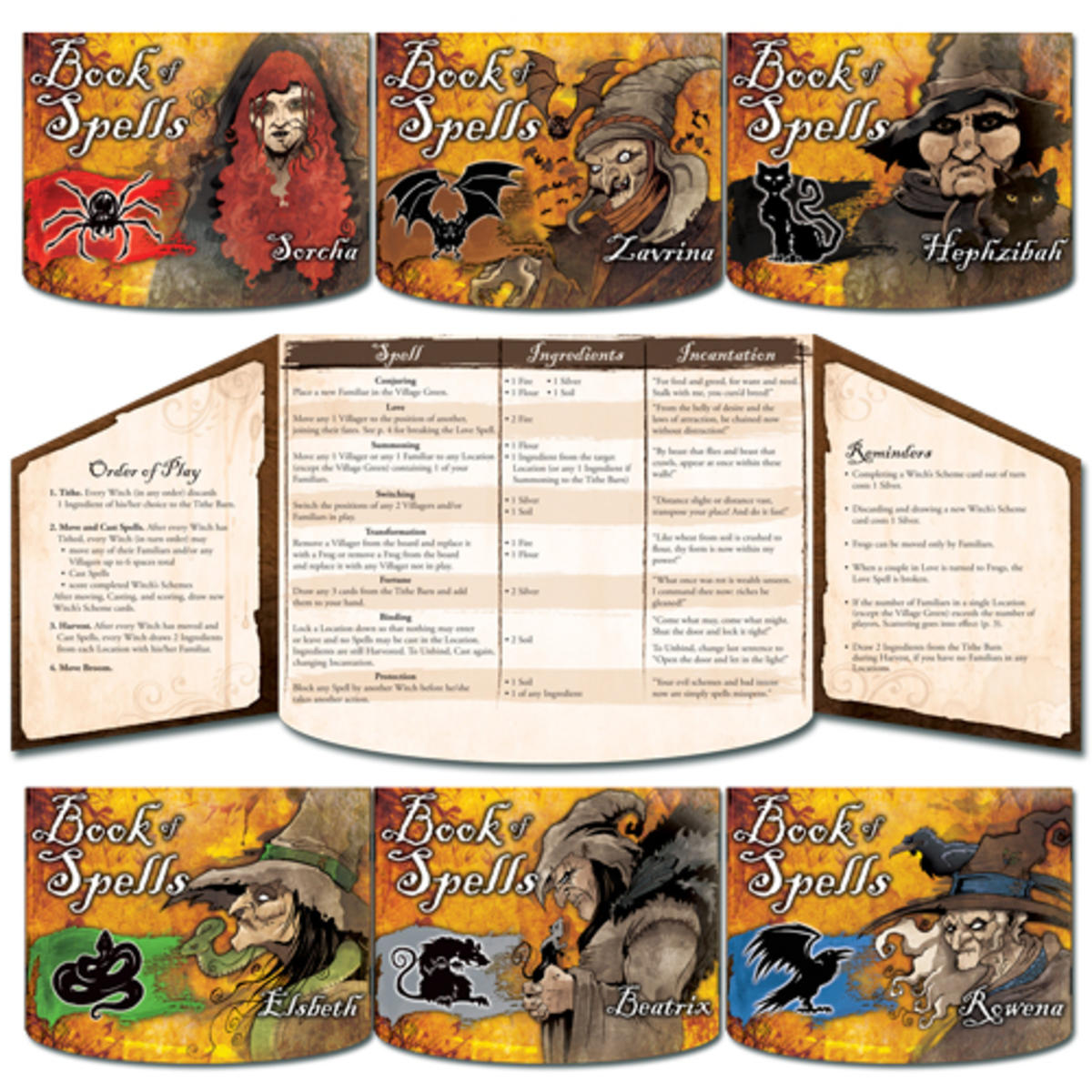 Village Crone board game review: The way of the witch is