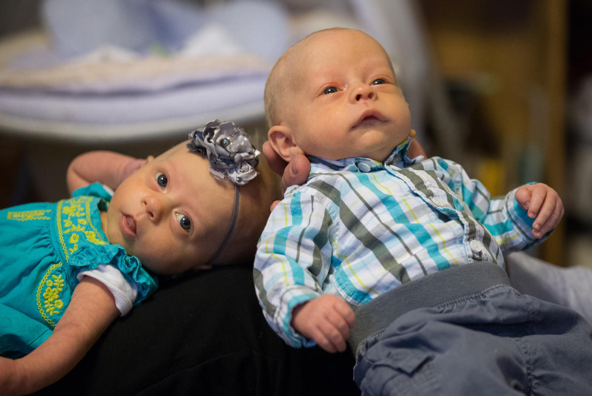 Two's company: Twin birth rate reaches all-time high in U S