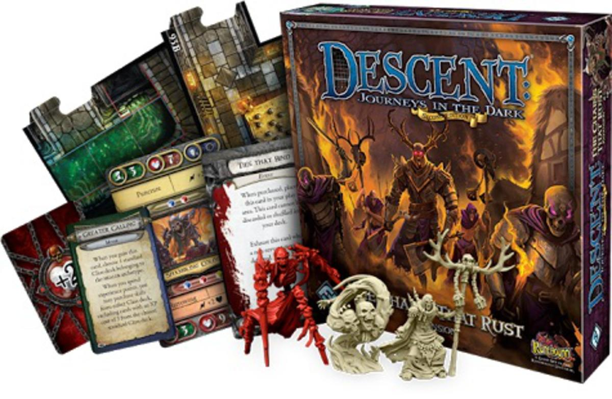 Game review of Descent: The Chains that Rust — An undead
