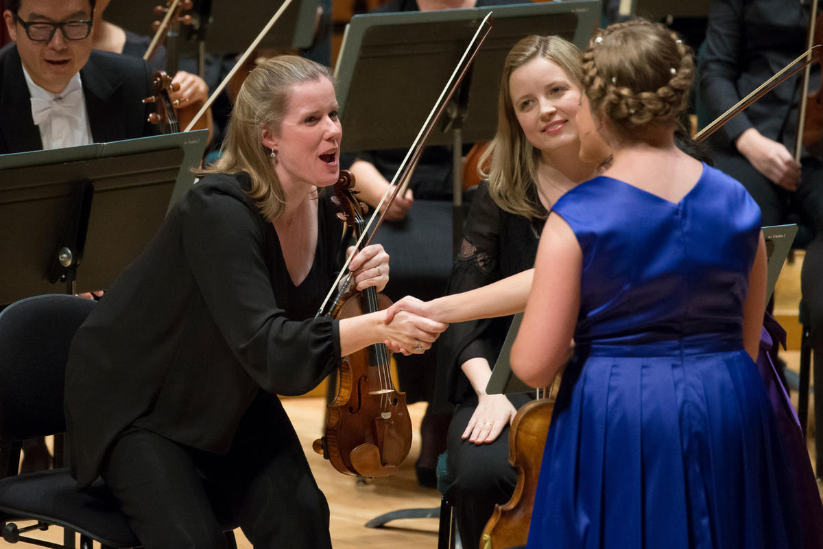 New Utah Symphony concertmaster Madeline Adkins pays tribute
