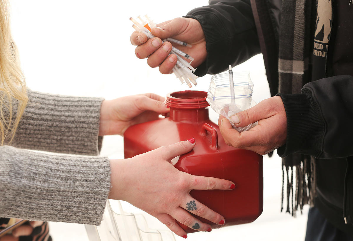 Utah's first needle exchange program is up and running