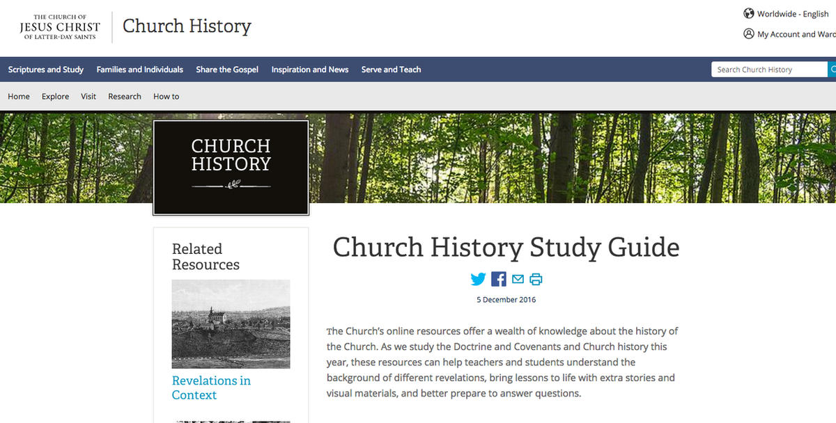 Rich new resources for studies of LDS scripture and history