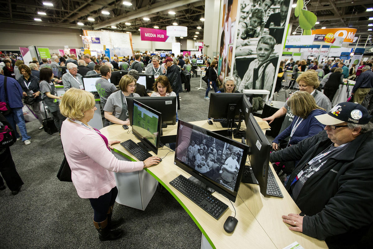 How technology revolutionized family history work in recent