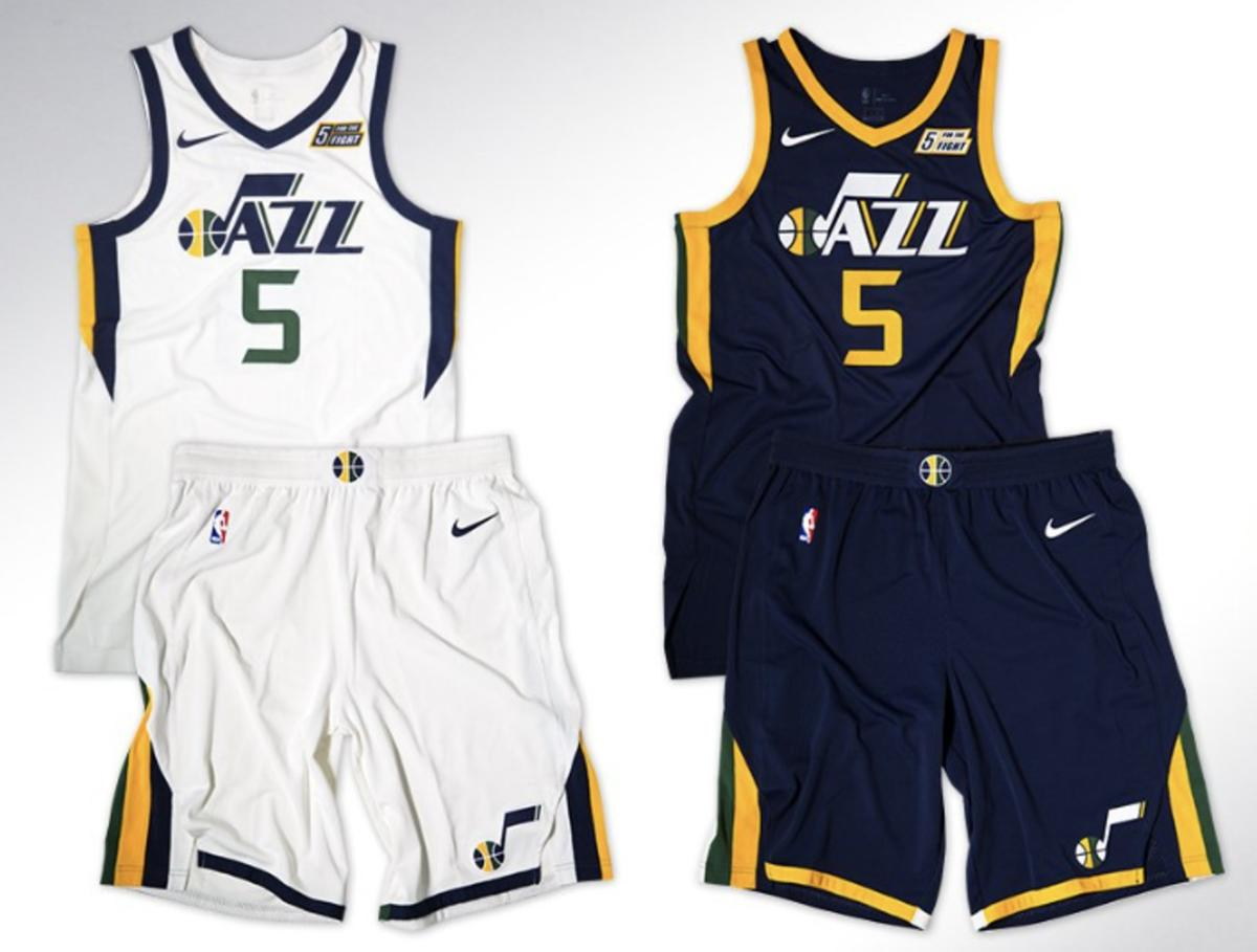 sneakers for cheap 4cbc1 ea22f Here's what's different about the new Utah Jazz uniforms ...