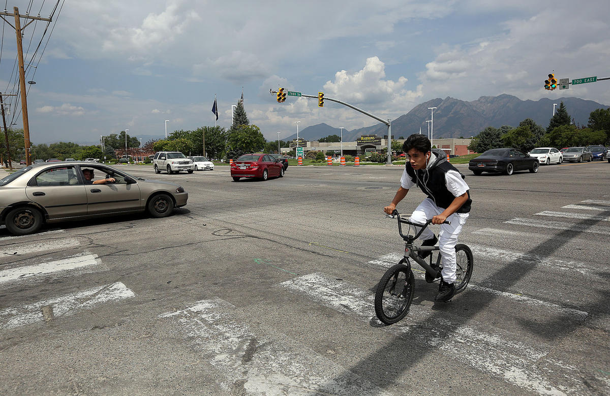The 10 most dangerous intersections for pedestrians in Salt