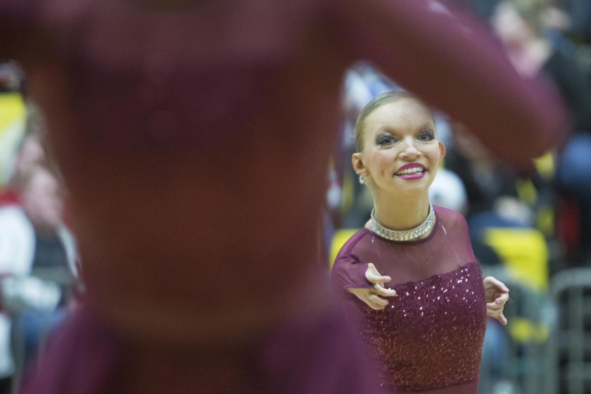 Jordan drill team offers freshman dancer an opportunity to