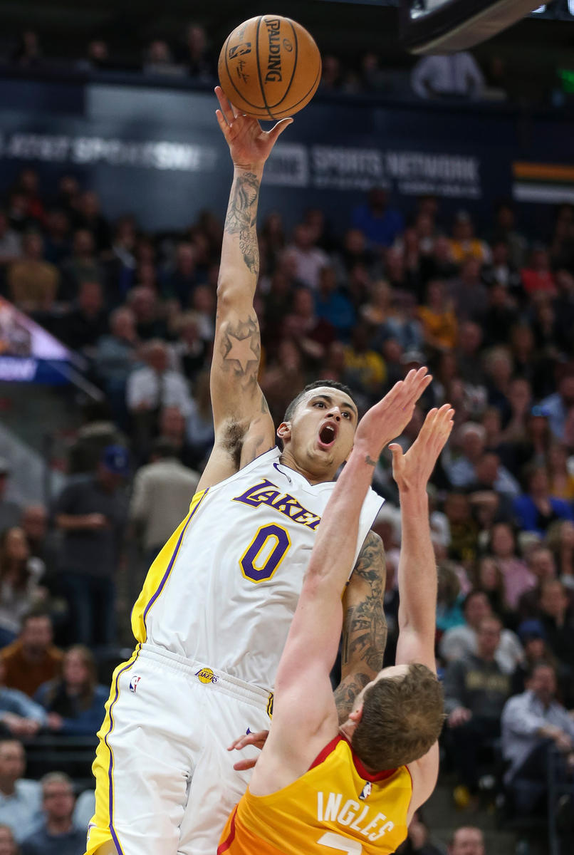 Lakers' Kyle Kuzma on Utah: 'This has a place in my heart