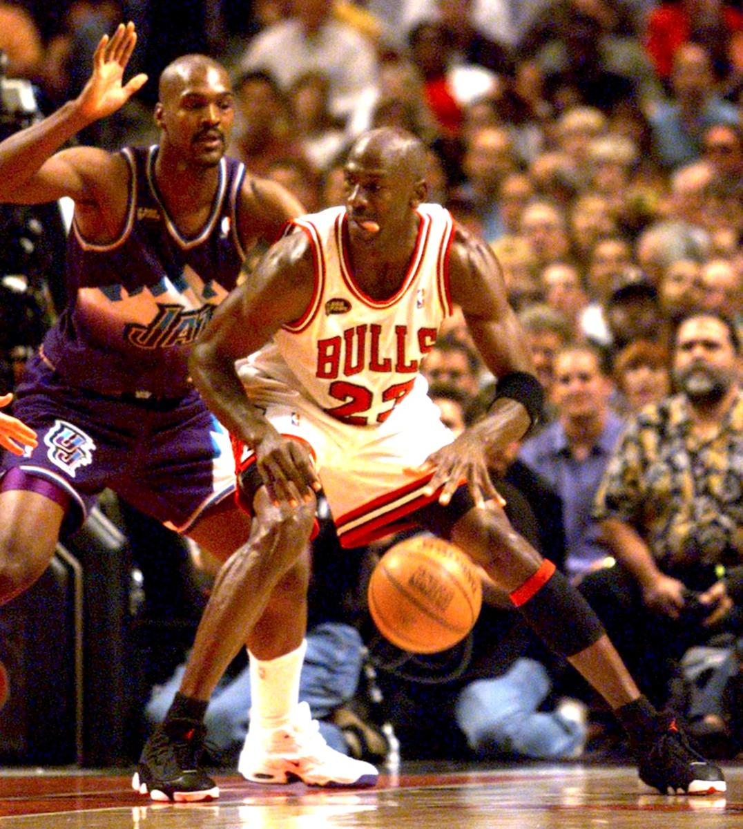20 Years After Michael Jordan Push Off Bryon Russell Feels Utah Jazz Should Retire His Jersey Deseret News