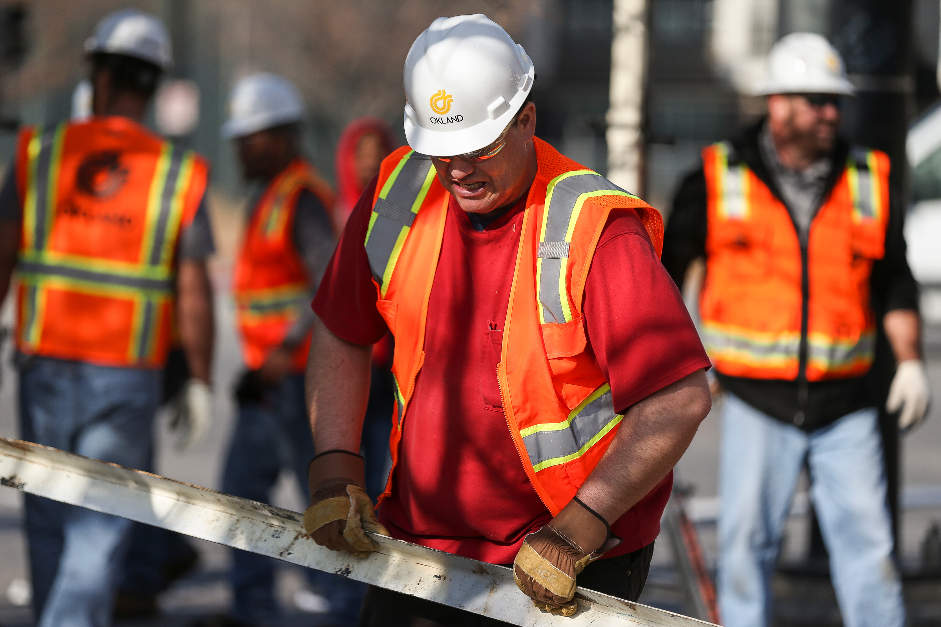 Road Home residents try out for construction jobs in
