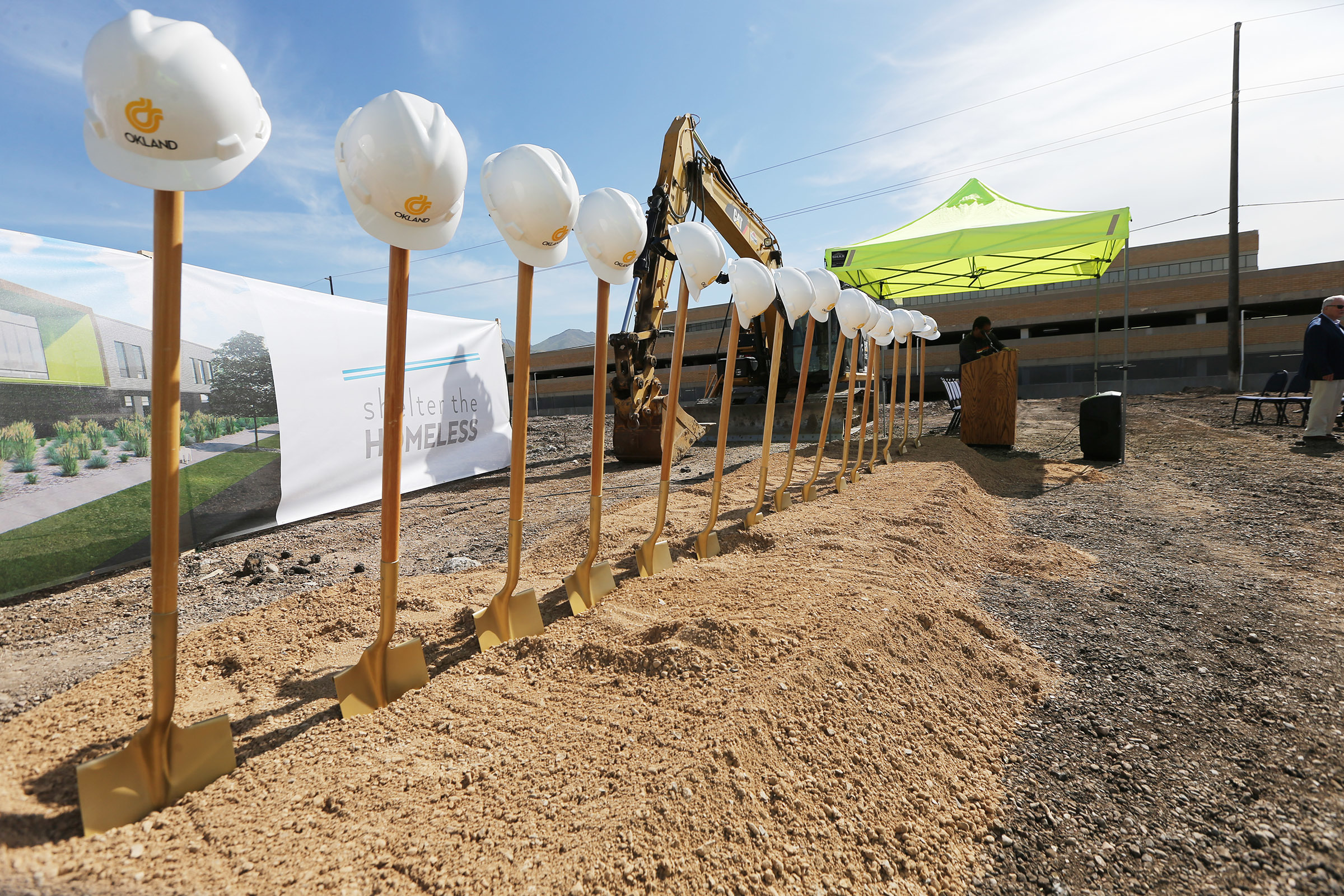 Space of hope': Officials break ground on 1 of 3 new