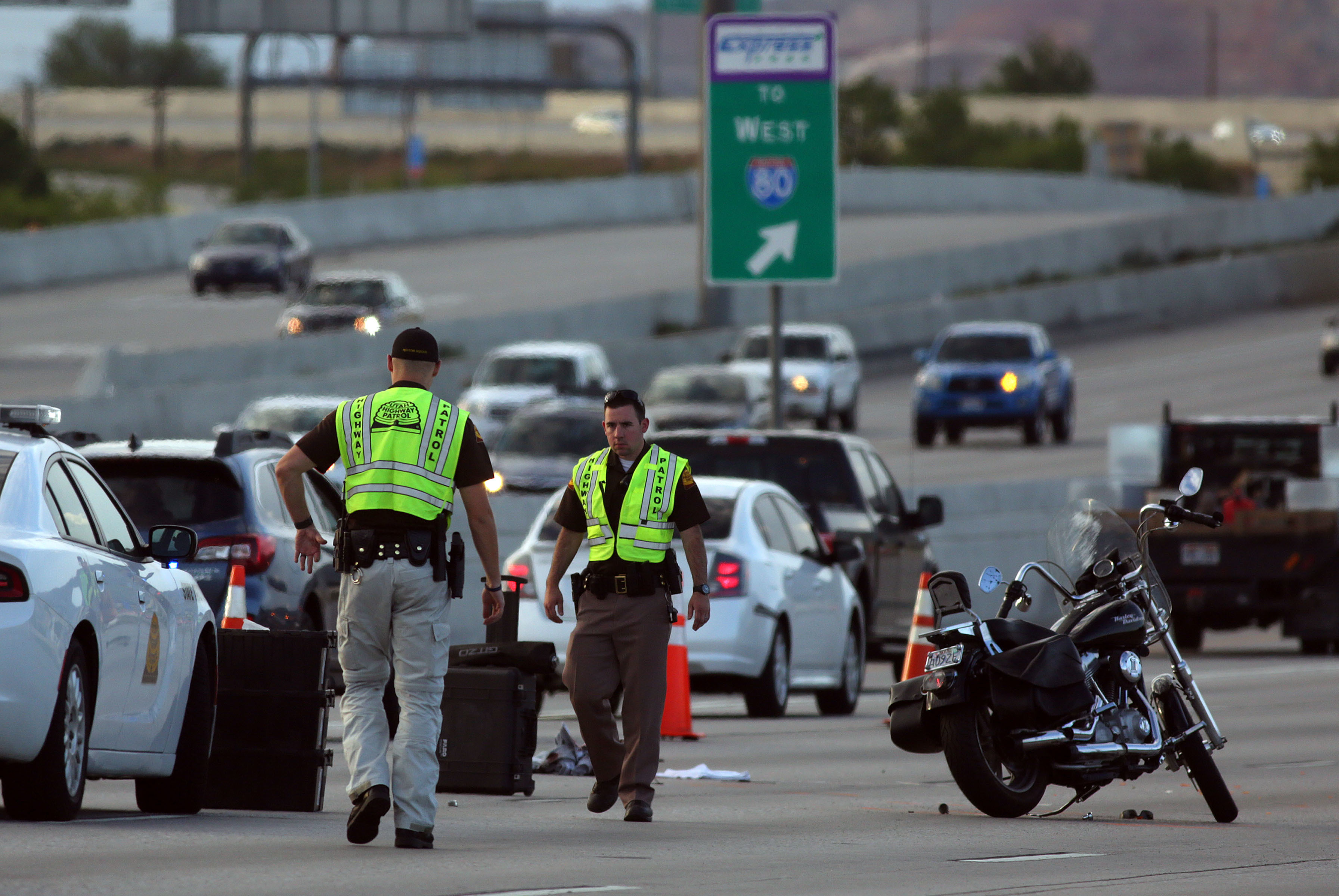 Two motorcyclists in critical condition after I-15 crash